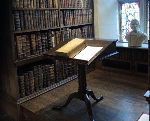 trinity college oxford library area - 2