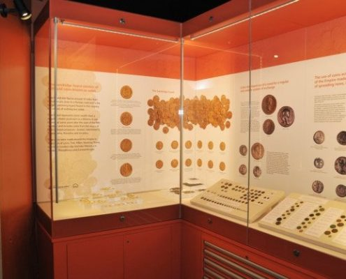 verulamium museum display case