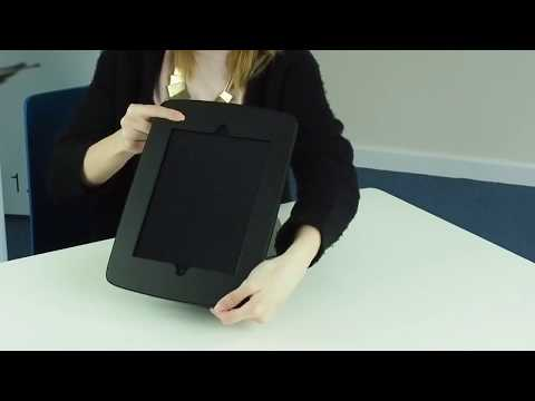 Moonbase desktop tablet holder