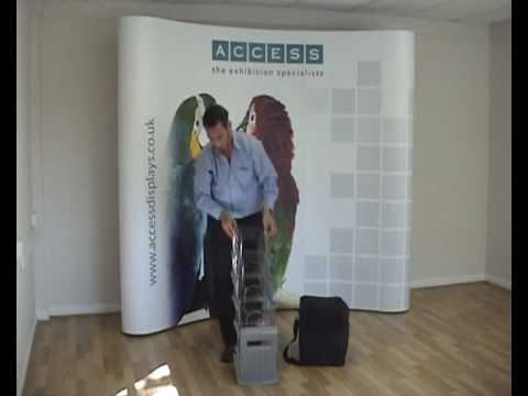 Cascade A4 Leaflet Stand Product Demo
