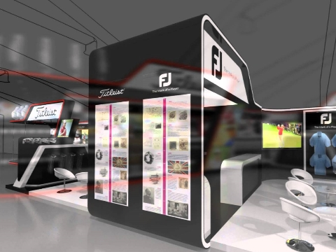 Exhibition Stand Design - Acushnet Fly through
