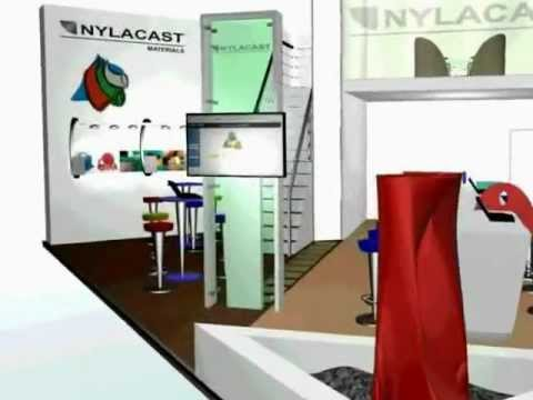 Exhibition Stand Design - Nylacast 3D Fly-through