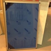 900 x 600 internal lockable notice board