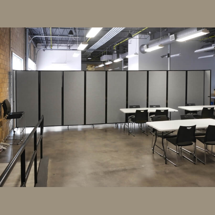 9 Panel Acoustic 360 Folding Room Dividers Access Displays
