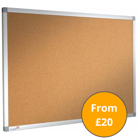 Cork Notice Boards and Sundeala Pinboards