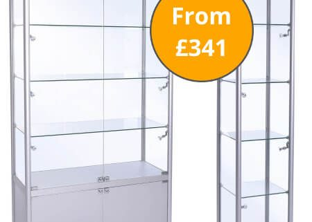 Freestanding Display Cabinets