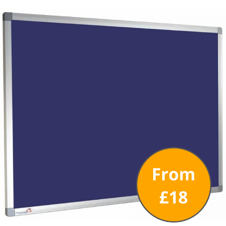 Felt Notice Boards and Pin Boards