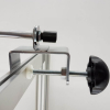G clamp for Atlas LED display light with straight arm