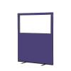 1200 (w) x 1500 (h) glazed office screen - Violet Woolmix