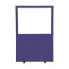 1200 (w) x 1800 (h) glazed office screen - Violet Woolmix