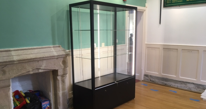 Portable Exhibition Display Cases : Quality museum display cases cabinets access displays