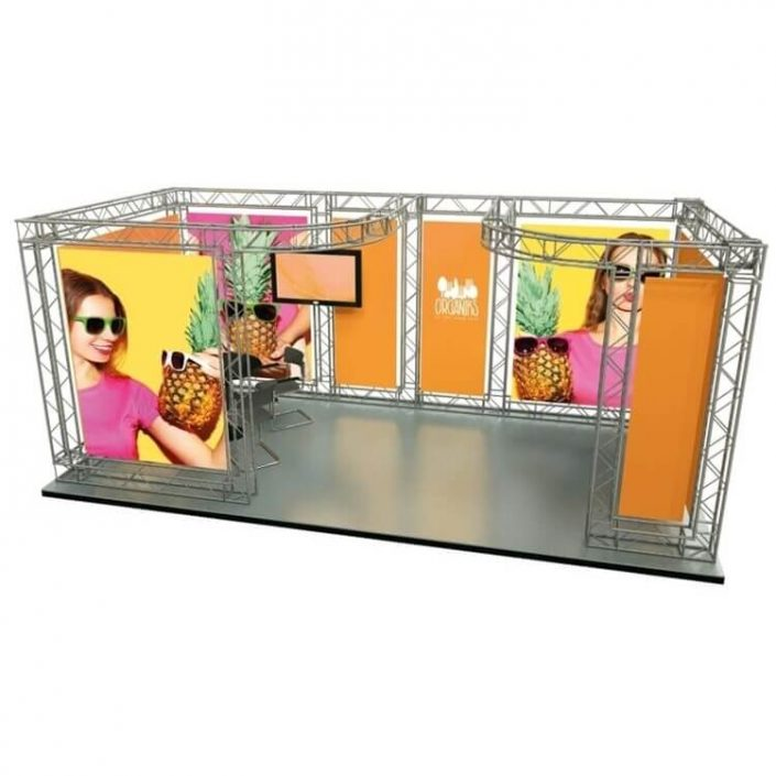 6m x 3m Arena exhibition stand (Kit 4)