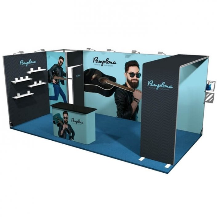6m x 3m Vector exhibition stand