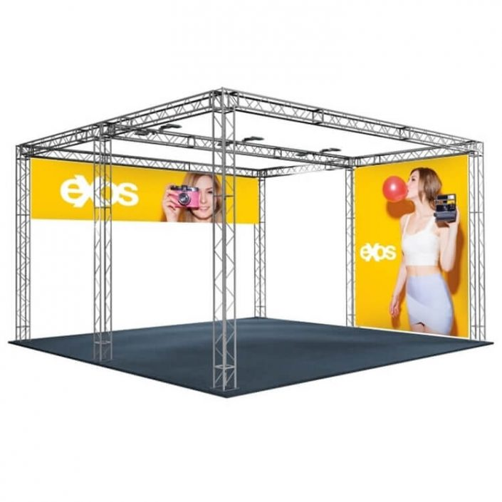 6m x 6m Arena exhibition stand
