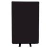 700mm (w) x 1200mm (h) office screen - Nyloop Black