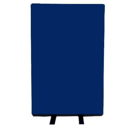 700mm (w) x 1200mm (h) office screen - Woolmix Blue