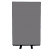 700mm (w) x 1200mm (h) office screen - Woolmix Grey