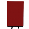 700mm (w) x 1200mm (h) office screen - Woolmix Ruby