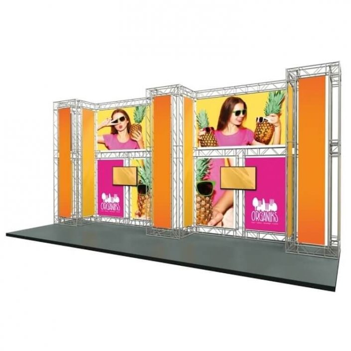 8m x 3m Arena exhibition stand (Kit 5)