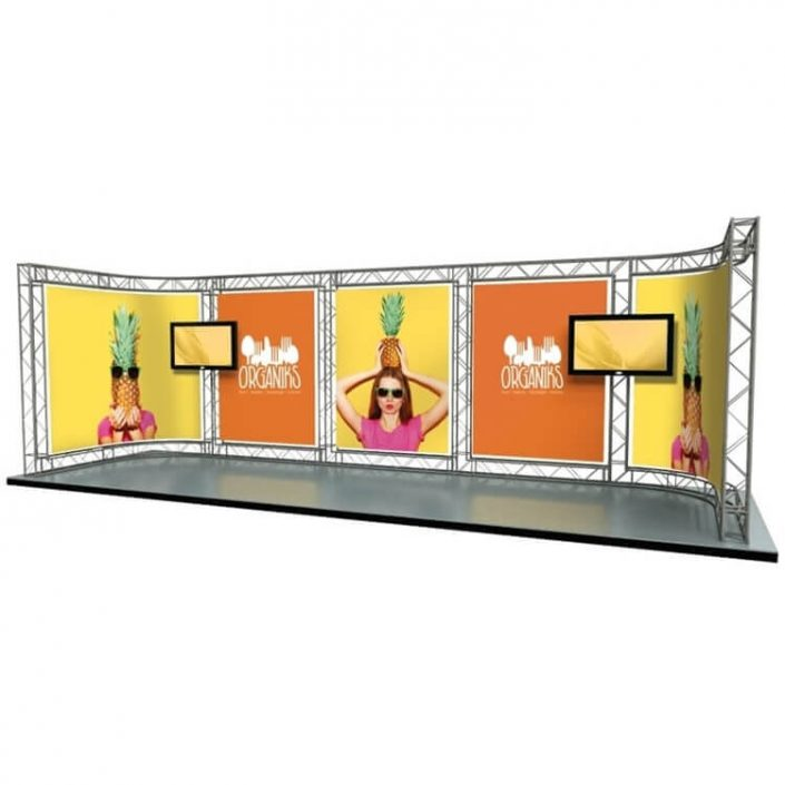8m x 3m Arena exhibition stand (Kit 6)