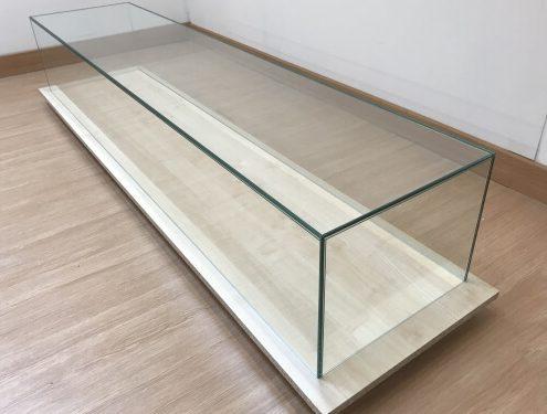Custom UV bonded glass box