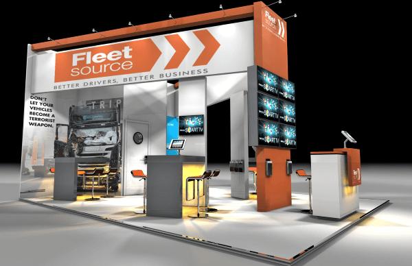 Exhibition stand hire D - 7m x 5.5m