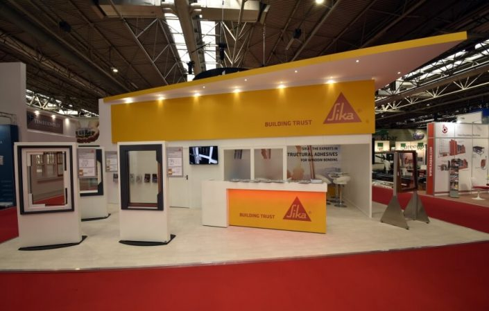 10m x 5m exhibition stand at Fit Show