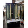 BFWC-1000 display case with LED strip lighting - Open doors