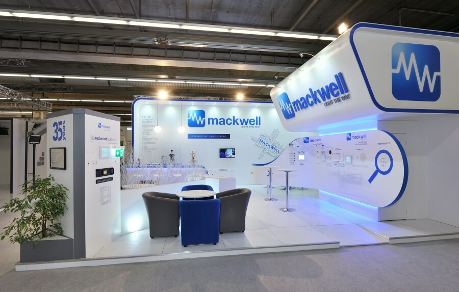 Exhibition Stand Design And Build Germany : M m exhibition stand at light building germany access