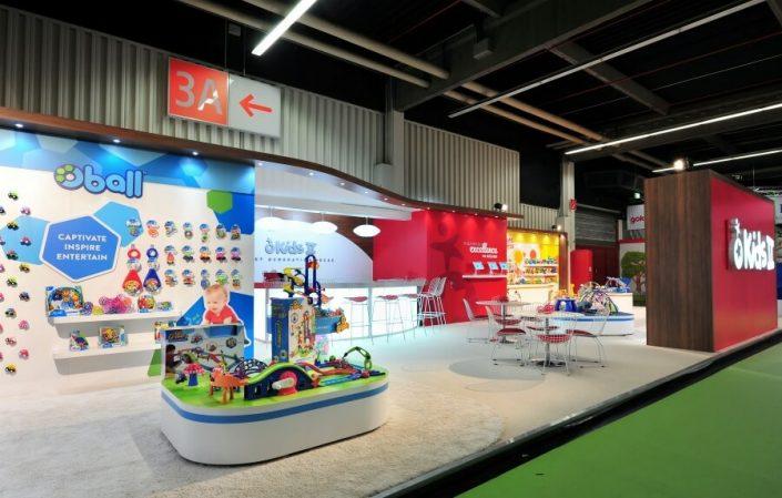 18m x 8m exhibition stand at Nuremberg International Toy Fair