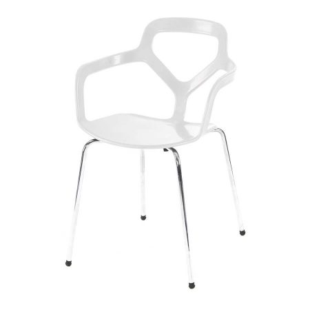 Hire Roma chair in White