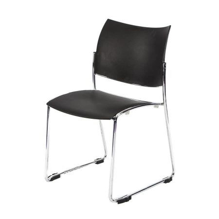 Hire Stacking chair in Black