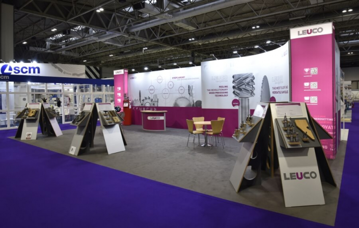 Exhibition stand hire 12m x 6m