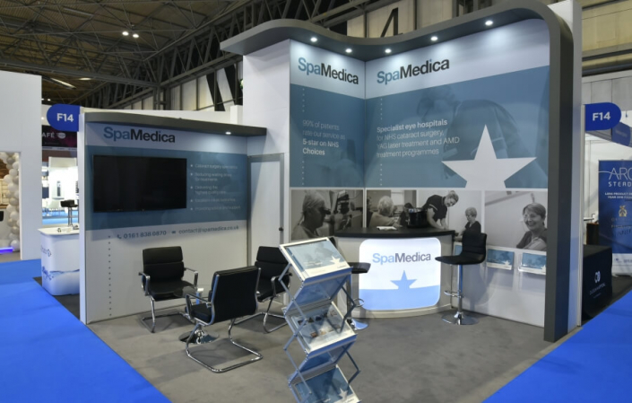 Exhibition stand hire 4m x 4m