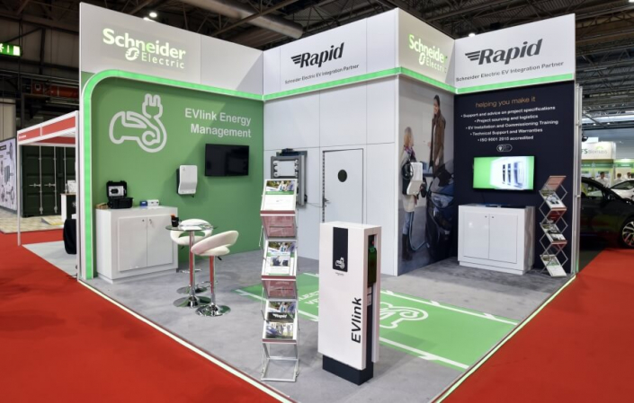 Exhibition stand hire 5.5m x 5m