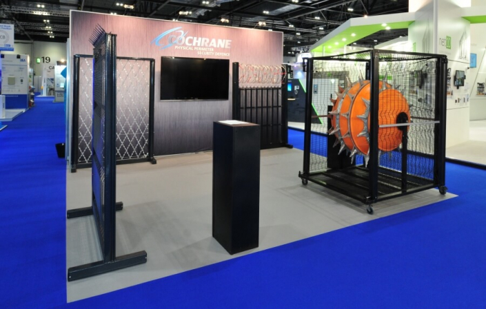 Exhibition stand hire 5m x 5m