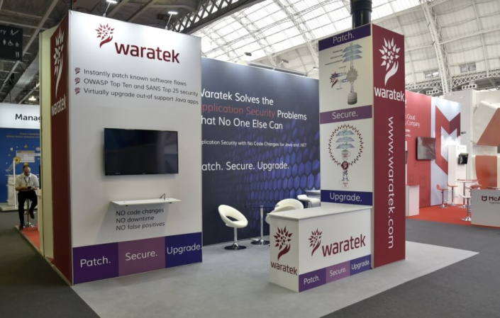 Exhibition stand hire 6m x 4m
