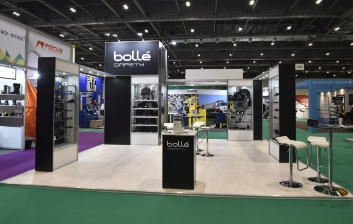 Exhibition stand hire 6m x 6m