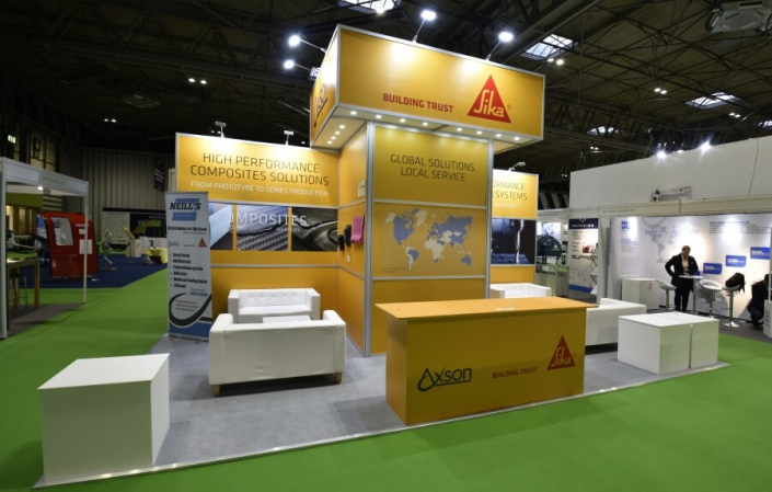 Exhibition stand hire 7m x 4m
