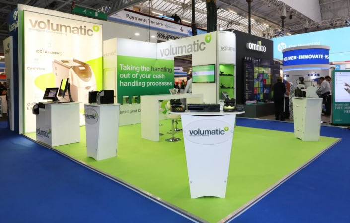 Exhibition stand hire 7m x 5m
