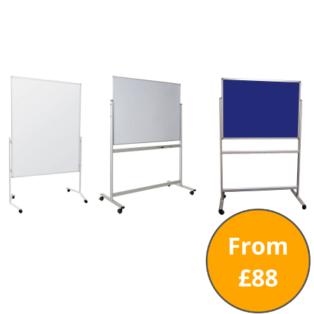 Mobile Notice Boards and Whiteboards