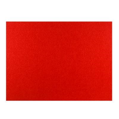 Frameless Polycolour notice board - Red