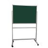 Portable felt notice board - Dark Green