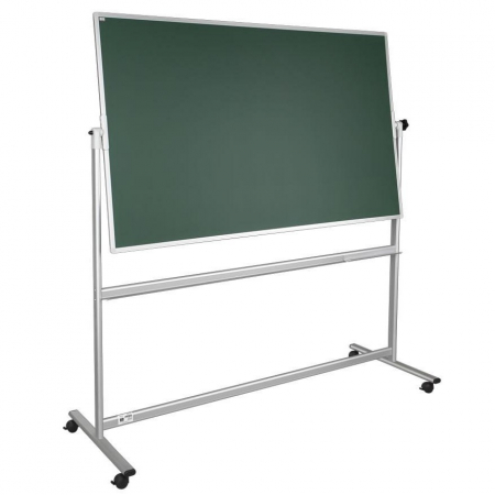 Portable magnetic chalkboard notice board