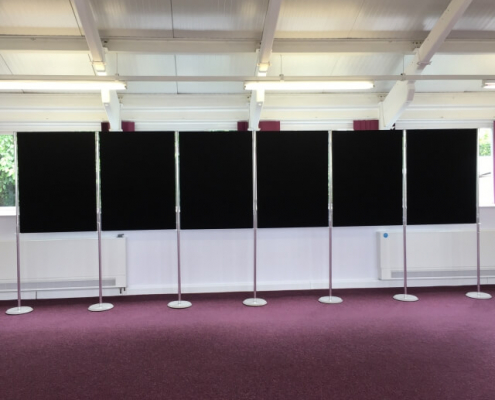 1200mm x 900mm - Continuous Display Board Hire