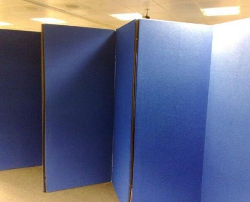 2m x 1m - Zig Zag Display Board Hire - 8