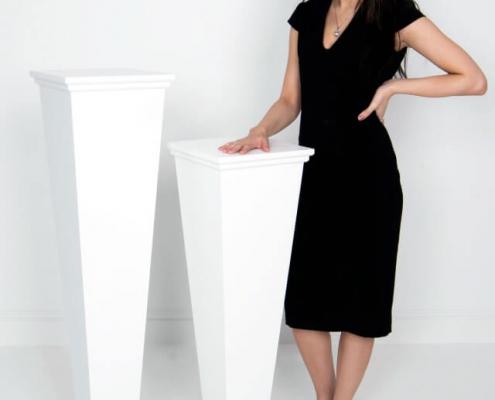 Art deco style plinth hire 2