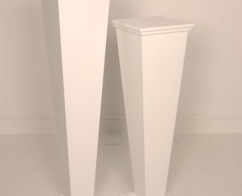 Art deco style plinth hire