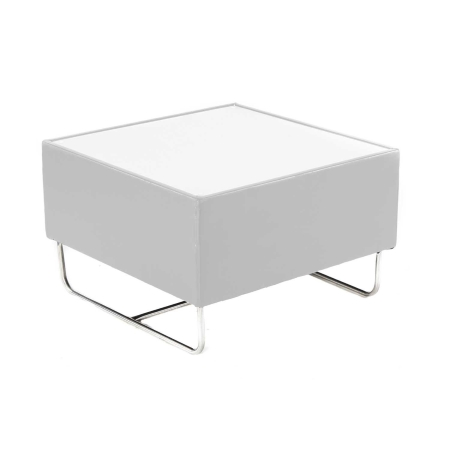 CF27 Coronet coffee table hire - White