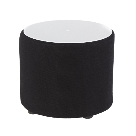 CF31 Drum coffee table hire - Black